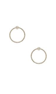 Drama double hoop earring - Rebecca Minkoff