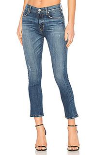 Укороченные джинсы-клеш harper baby kick - Hudson Jeans