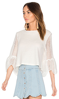 Cropped bell sleeve top - Endless Rose