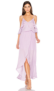 Rockefeller solid maxi dress - Karina Grimaldi