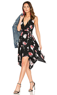 Floral hanky wrap dress - Band of Gypsies