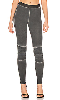 Stitch moto legging - David Lerner