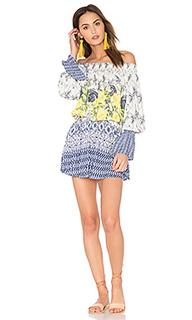 Мини-платье с открытыми плечами - FARM
