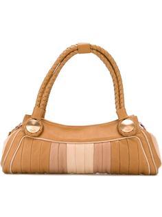 сумка-тоут с панельным дизайном Fendi Vintage