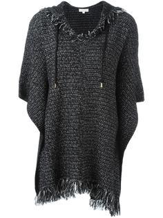 свитер с бахромой и капюшоном Michael Michael Kors