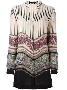 блузка со смешанным принтом  Etro