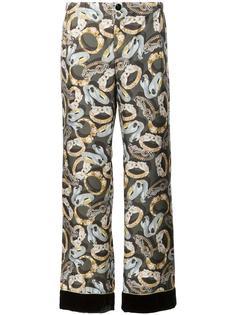 пижамные брюки с принтом украшений For Restless Sleepers