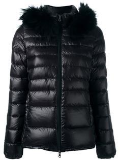 куртка с меховой отделкой  Duvetica