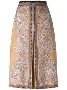 плиссированная юбка  Alexander McQueen