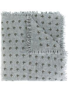 шарф с принтом бабочек Fefè