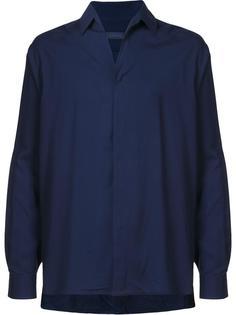 рубашка с потайной застежкой Lanvin