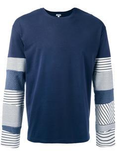 футболка с длинными рукавами и лоскутным дизайном Loewe