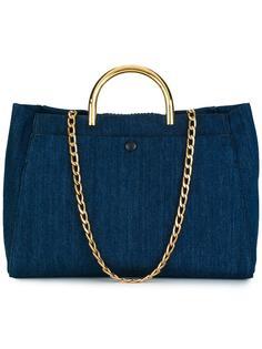 джинсовая сумка-тоут Nina Stella McCartney