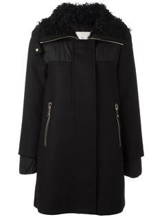 короткое пальто Calipso Moncler
