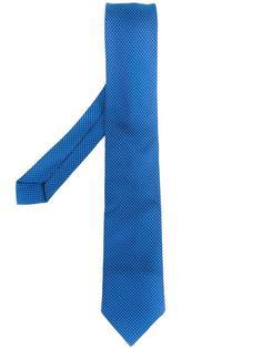 галстук с вышивкой в горошек Giorgio Armani Vintage