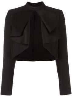 пиджак с объемными рюшами Balmain