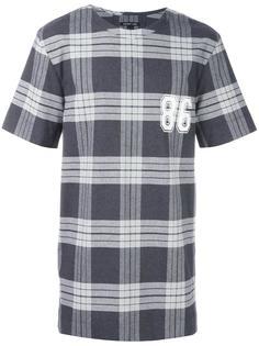 футболка в клетку Helmut Lang