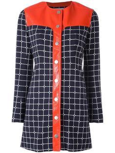 платье-рубашка Grid Courrèges