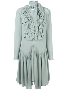 платье с оборками Chloé