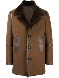 пальто с панельным дизайном  Neil Barrett