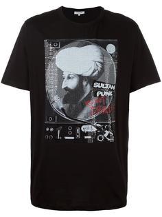 футболка с принтом султана Les Benjamins
