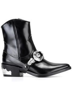 ковбойские ботинки с ремешками Toga