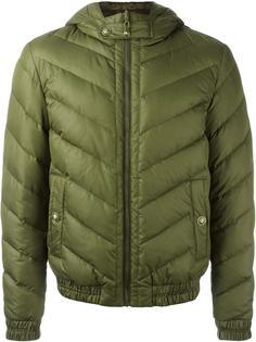 стеганая куртка с капюшоном Versus