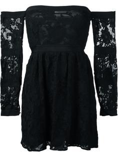 расклешенное платье без бретелек For Love And Lemons