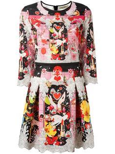 платье с цветочным рисунком Piccione.Piccione