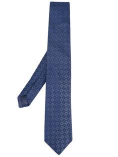 жаккардовый галстук Emporio Armani