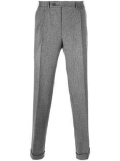 зауженные брюки Canali