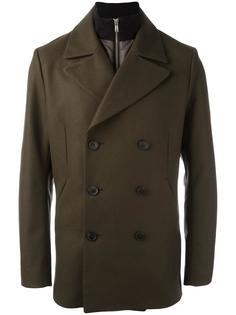 двубортное пальто Theory