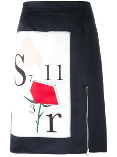 юбка с графическим принтом Au Jour Le Jour