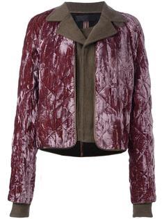 укороченная стеганая куртка Haider Ackermann