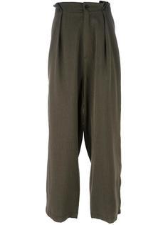 брюки Pleats Société Anonyme