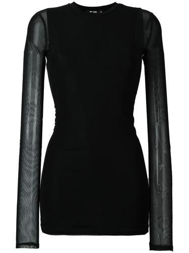 прозрачная блузка Blk Dnm