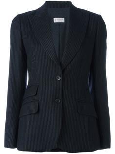 приталенный пиджак в полоску Alberto Biani