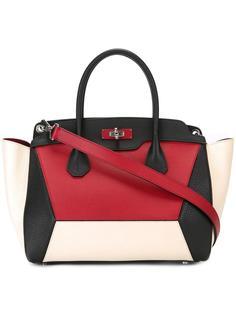 сумка-тоут с панельным дизайном Bally