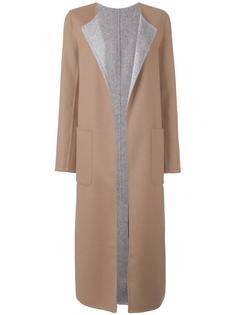 пальто с накладными карманами Tagliatore