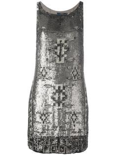 платье шифт с отделкой бусинами Polo Ralph Lauren