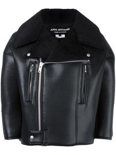 байкерская куртка из искусственной кожи Junya Watanabe Comme Des Garçons