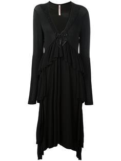 платье с V-образным вырезом Antonio Marras