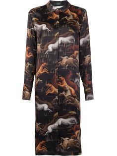 платье-рубашка Black Horse Alena Akhmadullina