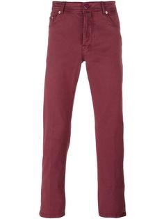 узкие брюки Kiton