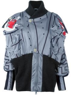 объемная куртка с геометрическим принтом Vivienne Westwood Anglomania
