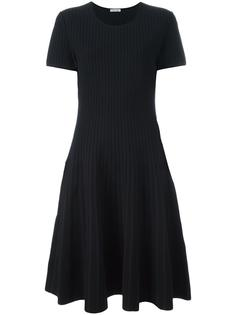 полосатое платье с линялым эффектом Tomas Maier