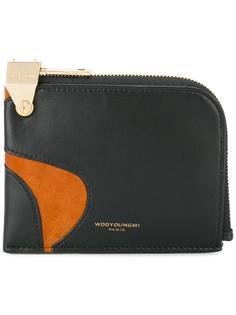 бумажник на молнии Wooyoungmi