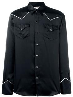 рубашка кроя слим в ковбойском стиле Saint Laurent