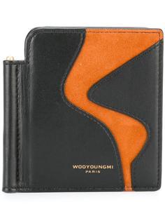 бумажник с замшевой панелью Wooyoungmi
