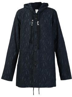 куртка с капюшоном и тональным принтом Damir Doma